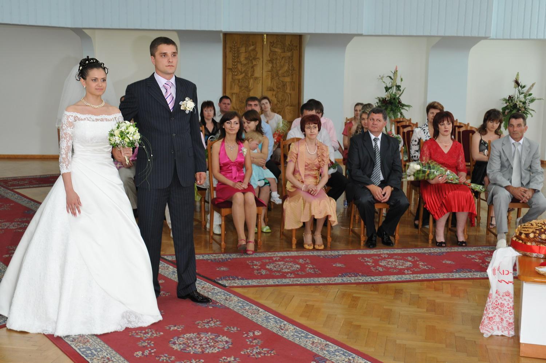Фото свадьбы в центральном загсе